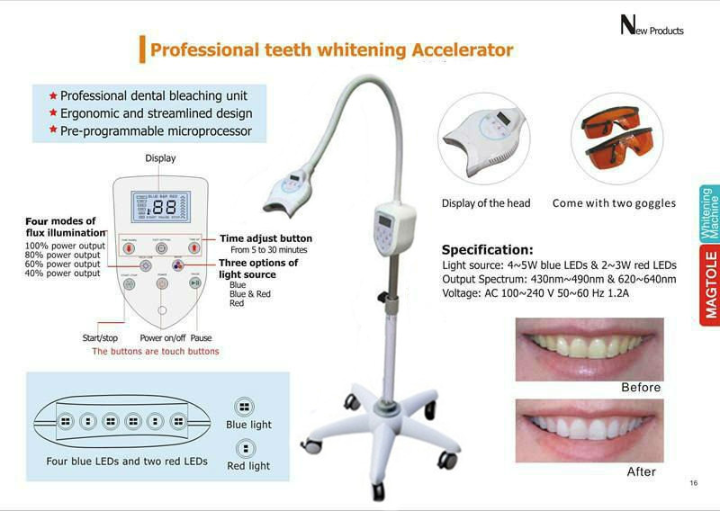 maquina blanqueamiento dientes